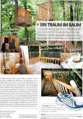 trends & fun Göttingen, Ausgabe Sommer 2012.