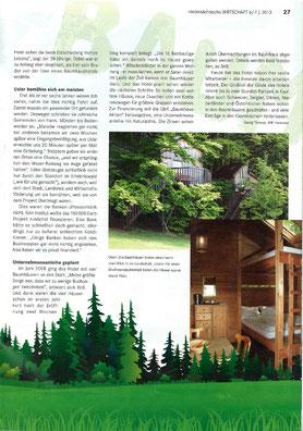 IHK Magazin Nds. Wirtschaft 6/7 2013, 2. Seite.