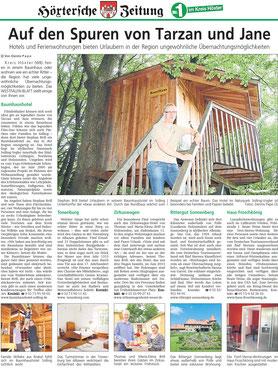 Höxtersche Zeitung vom 09.08.2014.