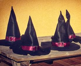 Les Ateliers de Blanche Ateliers couture activité enfant la Balme de Sillingy Annecy 74 diy halloween chapeau de sorcière fait main loisirs créatifs diy