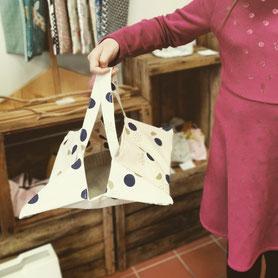 Les Ateliers de Blanche Ateliers couture sac à tarte gris loisirs créatifs diy