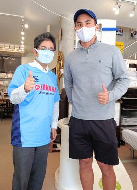 ヤマハ発動機ジュビロの中井健人選手 / マニステージ福岡