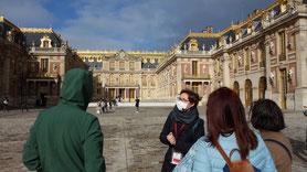 Guide-Conférencier pandémie Versailles