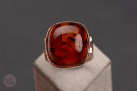 Art Deco Ring Rotgold, 20er Jahre Ring Gold, Ring böhmischer Granat, Granatring, mishmish Unikatschmuck, Vintage Ring, Rotgold, Vintage Schmuck, Schmuck lokal München, Ring Granat, antiker Ring, Granatschmuck