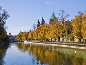 Nymphenburger Kanal in München