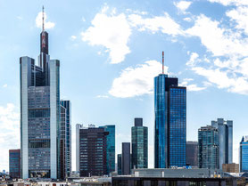 Skyline Hochhäuser Frankfurt