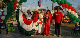 decoración muy mexicana