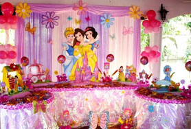 decoracion princesas disney presentacion