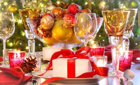 arreglos especiales mesa navidad