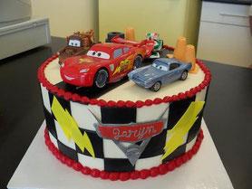 pastel infantil niño