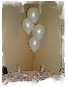 globos centro mesa