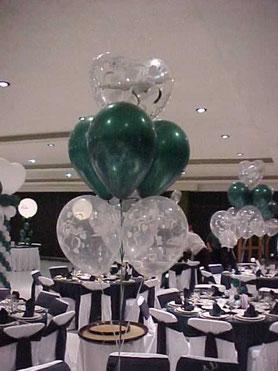centros de mesa boda globos
