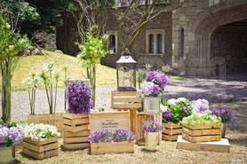 vintage-jardín