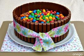 pasteles infantiles coloridos