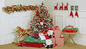 decoracion cuarto navidad