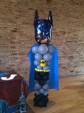 figura de globos batman