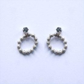zeeuwse oorbellen zilver toermalijn, zeeuwse sieraden