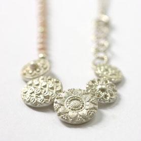 zeeuwse ketting met parels, zeeuwse sieraden