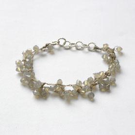 swarovski armband gehaakt, swarovski sieraden, handgemaakte sieraden