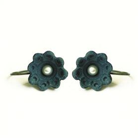 zeeuws oorbellen porselein, porseleinen sieraden, zeeuwse sieraden
