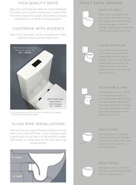 Toilet choices