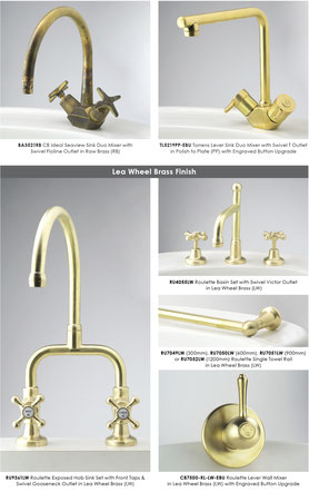 CB Ideal Contemporary Options Consolidated Brass