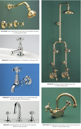CB Ideal Heritage Tapware Shower Consolidated Brass