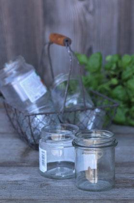 Glas zum Recyceln