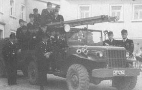 Erster Mannschaftswagen von 1950