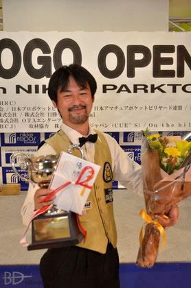 優勝は竹中寛プロ(JPBA)