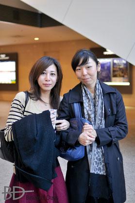西本優子(右)&福本綾香(左)