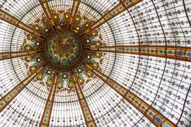 Blick nach oben: Galleries Lafayette