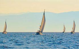 Flottieljezeilen naar Spetses