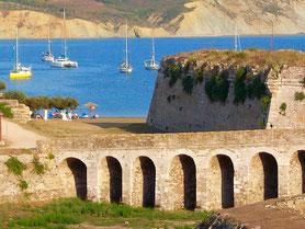 Flottieljezeilen in Griekenland in de Ionische Zee vanuit Corfu