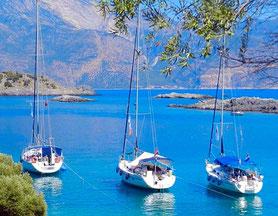 Flottieljezeilen vanuit Athene