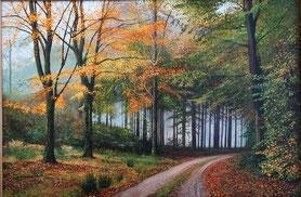 Herbstnebel 40 x 60