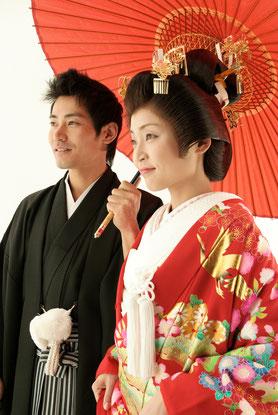 岐阜で和装で結婚式をしたかったというカップルの皆さん、美濃加茂のブライダルサカエでフォトウェディングを!
