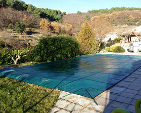Livraison et mise en hivernage piscine au sel sans entretien à domicile Alès proche quissac