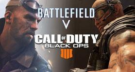Battlefield 5 vs Call of Duty Black Ops 4