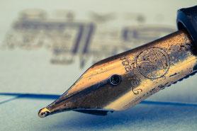 Füller, schreiben, Nachricht, Brief