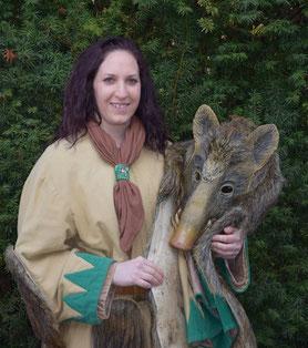 Lisa Gassmeyer, Zunftschreiberin und Einzelfigur Wildsau