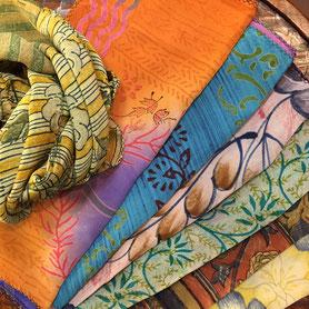 インド・シルクスカーフ