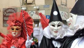 le carnaval de Limoux. Les Femnas et Le Paradou