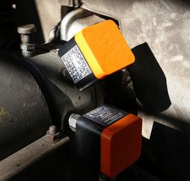 Dienstleistungen für Zustandsorientierte Instandhaltung (Condition Monitoring), u.a. mit drahtloser Schwingungsmessung