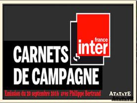 Atataye interview sur France Inter en 2016 Ceinture en pneu de vélo Deuxième Vie Belt Upcycling Artisanat Nouvelle-Aquitaine