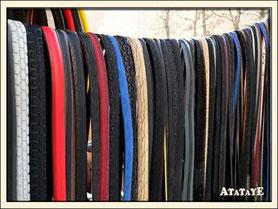 Atataye Revalorisation des Pneus de Vélo Recyclage pneu de vélo Ceinture en pneu Deuxième Vie des pneus Belt Artisanat en Nouvelle-Aquitaine