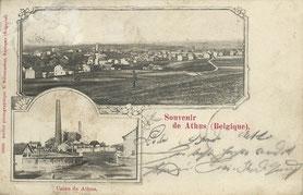 Carte Postale  Panorama et Usine