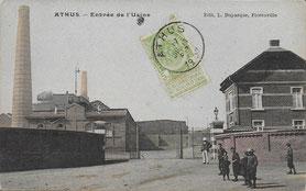 1939 - Entrée de l'Usine