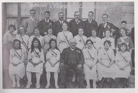 Société Chorale - Fahnenweihe am 30. Juli 1933