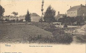 1939  Vue prise de la route de Rodange